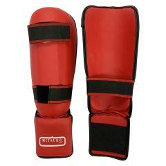 KARATE LEG & FOOT GUARD RED
