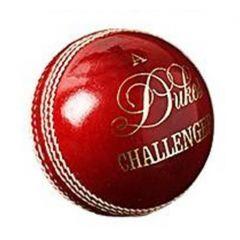 DUKES CHALLENGER 4 PC RED CRICKET BALL