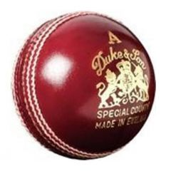 DUKES SPECIAL COUNTY 4PC CRICKET BALL RED