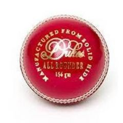 DUKES ALL ROUNDER 2 PC CRICKET BALL - RED