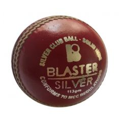 BLASTER SILVER CRICKET BALL