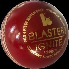 BLASTER IGNITE 4PC CRICKET BALL