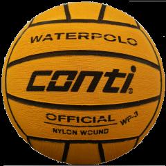 CONTI YELLOW/BLACK WATER POLO BALL