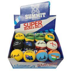 Summit High Bounce Ball COUNTRY Display Box
