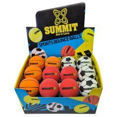 Summit High Bounce Ball Sport Display Box