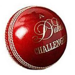 Dukes Challenger Cricket Ball - RED 156G