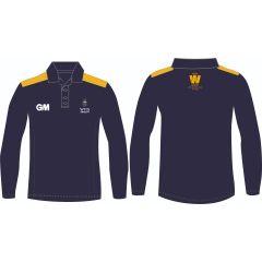 Wits Cricket Club Warmup Long Sleeve Golf Shirt